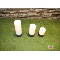 Best Battery Operated Plastic Candle Solar Garden Lights / Solar Powered Outdoor Lights wholesale