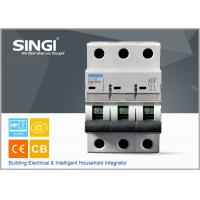 Best SINGI 65A 3VTB 3P 400V  CE certificate slippery container holder mini circuit breaker(MCB) manufacturer wholesale