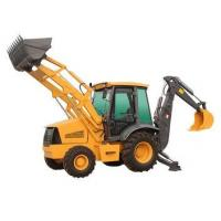 agricultural tractors backhoe machine with hydraulic thumb