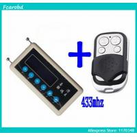 Best Fcarobd car remote control copy 433mhz car remote code scanner + 433mhz A002 car door remote control copy wholesale