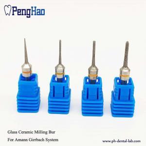 Best Coating Glass Dental Diamond Bur , Dental Milling Tools For Amann Girrbach System wholesale