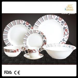 China new bone china 32 pc new design dinner set on sale