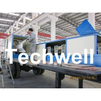 Best 914-610 Mobile K Span Roll Forming Machine for 0.8 - 1.5mm K Span Arched Roof Panel wholesale