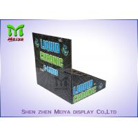 Cheap Eco-friendly corrugated material cardboard bottles countertop display stands for for sale