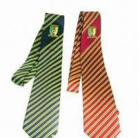 Best School Ties, Made of 100% Polyester or Silk. Available with Printing or Woven Logos wholesale