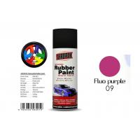 Best Multi - Purpose Removable Rubber Spray Paint Fluo Purple For Wheel Color Change wholesale