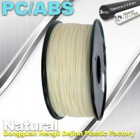 Cheap High Toughness 1.75mm 3D Printer Filament PC / ABS Filament 1.3Kg / Roll for sale