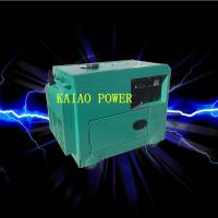 Best Backup Small Diesel Generators 5.0KW 72dB Noise Level , 912*532*740mm wholesale