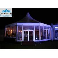 Best Customized Size Outdoor Party Tents / Aluminum Frame Tent Easy-Assembly wholesale