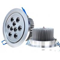 Best CE 50Hz / 60Hz 9W Commercial Indoor High Efficiency Safe Semi Led Recessed Ceiling Lights wholesale
