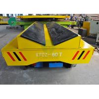 Best 1-200 Ton Pipe Factory Bar Motorized Rail Steel Tube Transfer Wagon Cable Reel Powered Electric Flat Cart wholesale