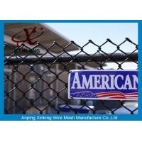Best Galvanized Steel Chain Link Fence Diamond Wire Mesh Fence Privacy Fence wholesale