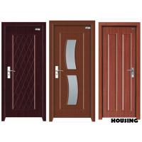 Details of eco friendly wood pvc doors with handles for Eco friendly doors
