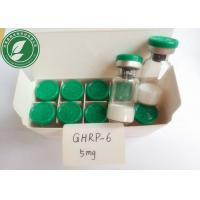Buy cheap White Lyophilized Peptide Powder GHRP-6 For Bodybuilding CAS 87616-84-0 from wholesalers
