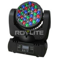 Best Mac 101 36 x 3w RGBW Led Moving Head Light Beam Angle 8 For Stage Lights wholesale