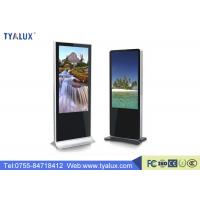 Quality Android 5.0 Ultra Thin Digital Advertising Displays / LCD Advertising Display One Year Warranty wholesale