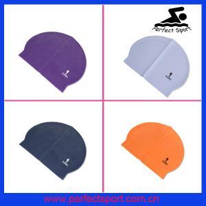 Best best quality latex custom swim caps wholesale