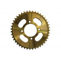 Best 428H116 Motorcycle Sprocket Chain , Custom Motorcycle Sprockets Heat Treatment Surface wholesale