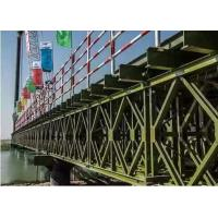 Best Temporary Steel Bridge Painted / Hot Dip Galvanized Prefabricated Foot Bridge wholesale