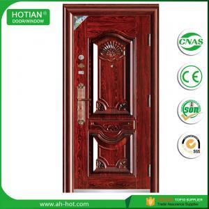 Best Latest Steel Apartment Entrance Door Metal Swing Door Main Gate Design for Sale wholesale