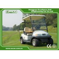 Best EXCAR A1S2 White 48V Trojan Battery Operated Electric Golf Carts wholesale