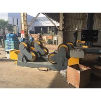Best Rubber Wheels Self-Aligned Welding Rotator Pipe Stand Roller Drive By 4kw Motor Power wholesale