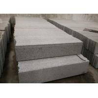 Best Sesame White Granite Stone Stairs , G655 Granite Outdoor Steps High Hardness wholesale