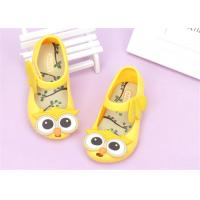 Best Ankle Strap Little Kids Shoes Baby Girl Sandals With Lovely Owl Bird Decorations wholesale
