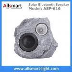 Best Solar Bluetooth Speaker Solar Resin Stone loudspeaker lamp Lighting for Outdoor Garden Patio Backyard Park wholesale