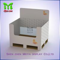 Best Colorfull Recycle Cardboard Pallet Display , cardboard counter display trays wholesale