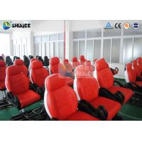 Cheap Fiber Glass 7D Movie Theater With Luxury Leather Dynamic Motion Chair for sale