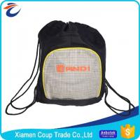 Buy cheap Gym Sports Basketball Football Drawstring Bags Water Resistant Multifunction from wholesalers