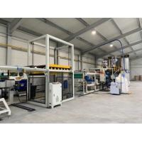 Best High Output Pp Sheet Machine Vaccum Forming Sheet Extrusion Equipment SGS wholesale