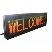 Best IP31 car indoor moving seven segment led display sign programmable wholesale