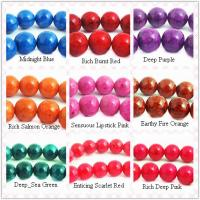Best Semi Precious Gemstone Beads, Round Fossil Agate Bead 10mm wholesale