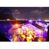 Best Long Life Span Large Outdoor Party Tents , Marquee Tent Wedding With Optional Accessories wholesale