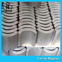 China 360 380 540 550 775 Strong Ferrite Arc Magnet for EPS Motor Customized Size on sale