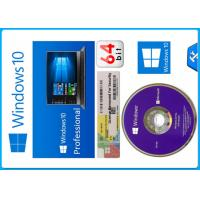 Buy cheap Microsoft Windows 10 Pro Software 64 bit OEM Package original License with different lanugage activation from wholesalers