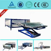 China EVA Curved Laminated Glass Machine , Industrial Laminating Machine Autoclave Free on sale