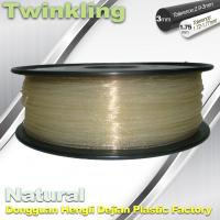 Best ±0.03 Tolerance Roundness 3d Printing Filament 1.75 3.0mm Transparent Color wholesale