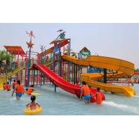 Outdoor Water Playground Equipment Water Theme Park With Water Spray