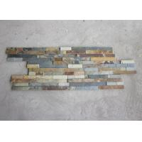 Best Lightweight Rusty Slate Artificial Culture Stone Cladding Wall Panels Anti Corrosion wholesale