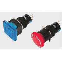 China Red / Blue / green illuminated toggle LED Push Button Switch / Catena for light on sale