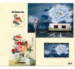 Best Customised Wallpaper Mural,Chinese Art,ASL81059-81060 wholesale