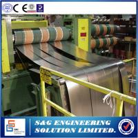 Best One Slitter Steel Plate Cutting Machine , Low Operating Costs Metal Sheet Slitting Machine wholesale