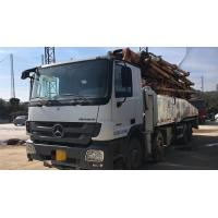 Best 8×4 Drive Mode Used Concrete Pump Truck BENZ-ZOOMLION Brand With 52m Pump wholesale