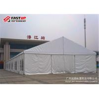 Best Durable Massive Tent 30 X 60 Party Tent With Tempered Glass Walls Glass Door wholesale