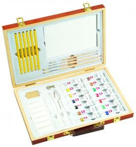 Best Professional Childrens Art Set Wooden Box , Durable Artist Acrylic Paint Box Set wholesale