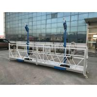 China L Stirrup Suspended Working Platform Zlp Series With Centrifugal Safety Lock on sale
