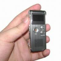 China Digital Voice Recorder with MP3/FM Function and 1 to 32GB TF Card on sale